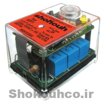 Shokouh GO811 Gas/Oil Burner Automatic Safety Controller